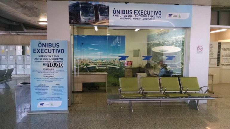 guiche onibus executivo aeroporto de brasilia