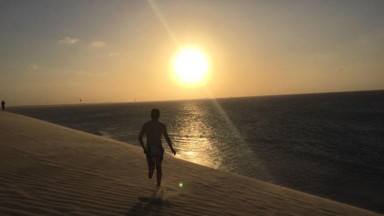 duna do por do sol