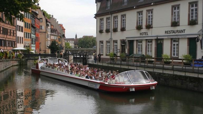 estrasburgo frança passeio barco