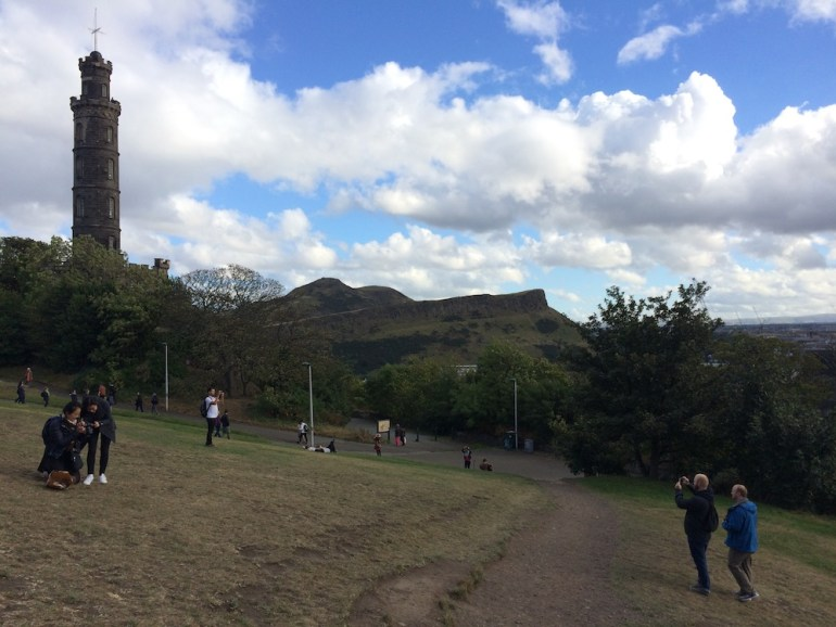 Calton Hill edimburgo uk