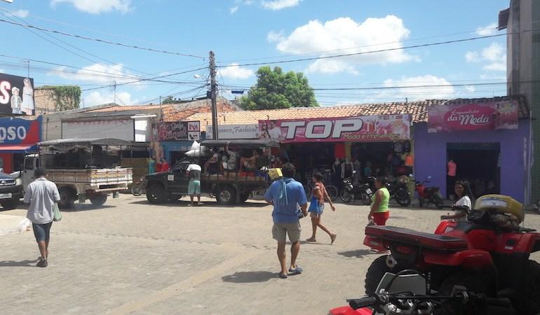 Centro barulhento de Barreirinhas