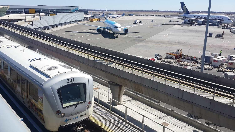 Aeroporto Jfk : Como ir do aeroporto jfk ao centro de nova iorque de airtrain e