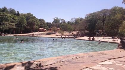 parque nacional brasilia piscina pedreira agua mineral