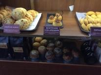 Comidas típicas no Café Santa Clara