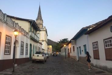Rua Eugênio Jardim, uma das mais bonitas de Goiás Velho
