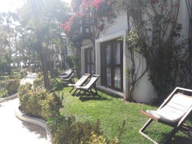 Jardim do My Blue Hotel