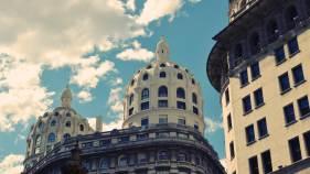Detalhe da arquitetura de Buenos Aires