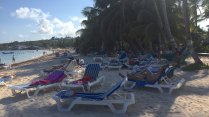 Areia da Playa Zarpada ou Playa de San Luis