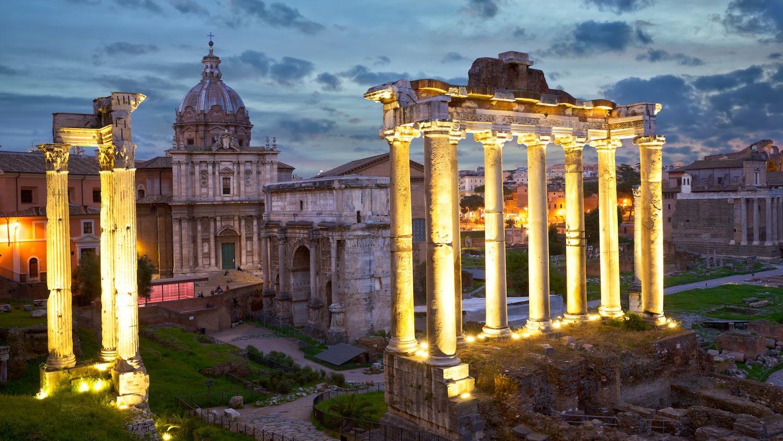 COMO IR PARA ROMA