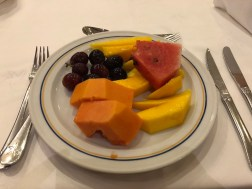 Frutas, sempre disponíveis no all inclusive