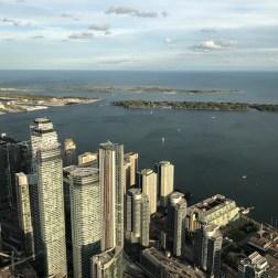 Prédios e Lago Ontário