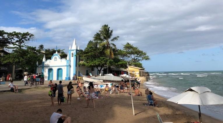 Igrejinha de Praia do Forte