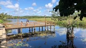 Lagoa Timeantube, perto do Centro. Boa para caminhadas e voltas de bicicleta e caiaque.