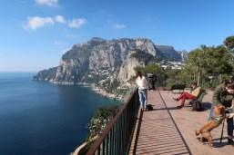 Belvedere Traga, em Capri