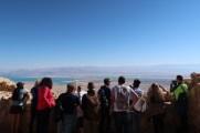 Masada: vista para o Mar Morto