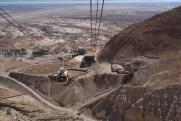 Teleféricos em Masada