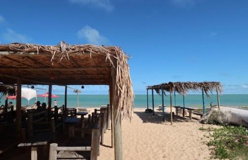 Barraca de praia em Ponta do Corumbau