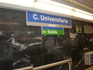 Ciudad Universitaria de Madrid. Crédito: Wikipedia