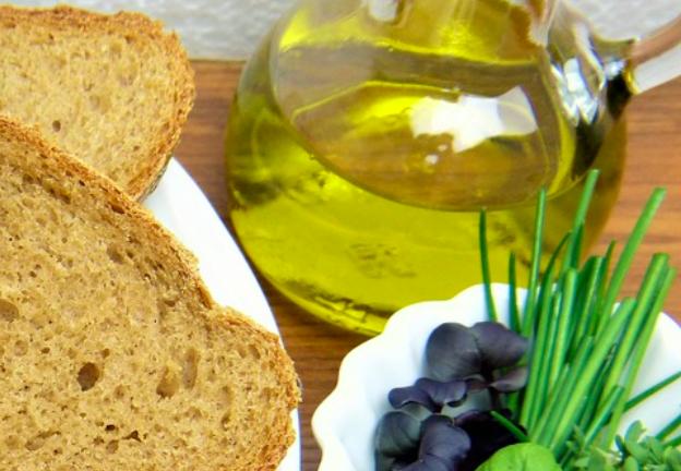 Receta paso a paso: Pan con nuestro Aove