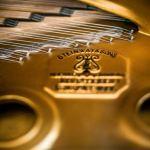 Detailansicht vom neuen Steinway-Konzertflügel