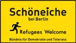 Logo des Buendnisses fuer Demokratiw und Toleranz in Schöneiche bei Berlin