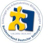 Gütesiegel für Bütgerstiftungen, verliehen durch den Bundesverband Deutscher Stiftungen