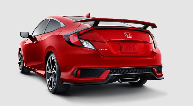 2018 honda civic si coupe pricing