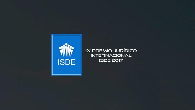 Madrid celebra la IX edición del Premio Jurídico Internacional ISDE
