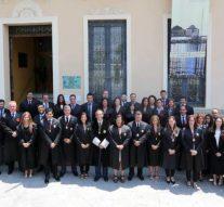 187 letrados juran el año judicial en Colegio Abogados de Málaga