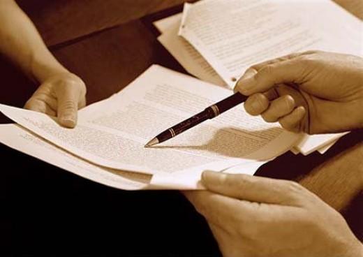 La validez legal de un documento escrito