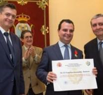 El letrado Francisco José Fernández recibe Medalla de Oro al Mérito Profesional de la Seguridad y Salud en el Trabajo