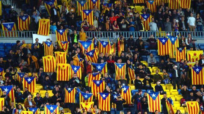TSJM prohíbe la exhibición de esteladas en la final de Copa