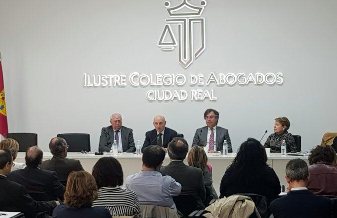 ICA Ciudad Real celebra II Encuentro de profesionales de la Justicia