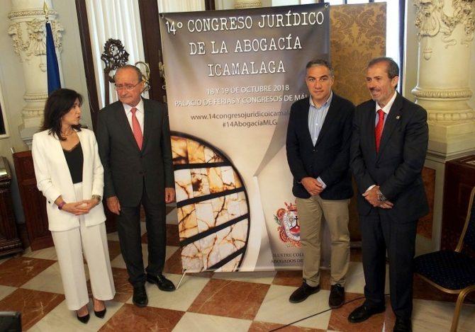 Málaga celebrará el 14º Congreso Jurídico de Abogacía ICAMÁLAGA en octubre