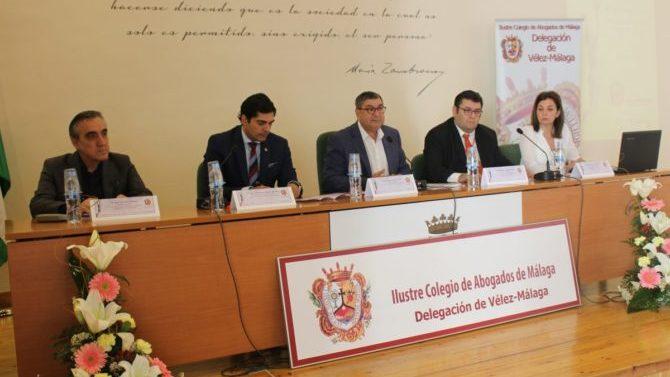Jornadas de la Abogacía en la Axarquía se celebran en Vélez-Málaga