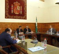Consejo Andaluz de Colegios de Abogados se reúne con presidente del TSJA