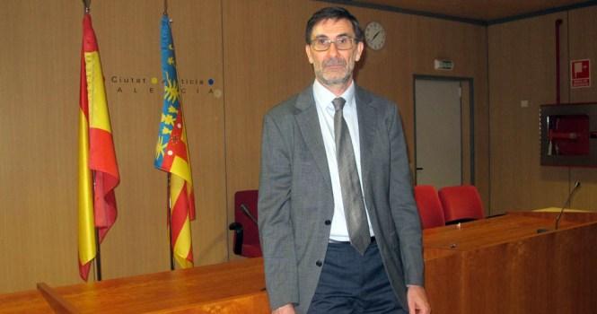César Calvé, nuevo decano de los jueces de Valencia