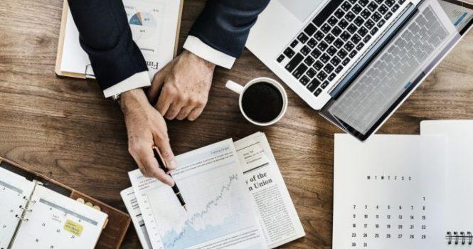 Cayeron las transacciones financieras un 14%