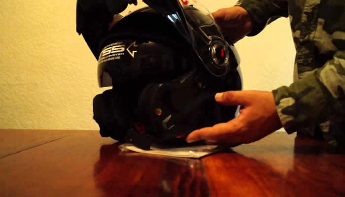 cuidado del casco de moto en chiclayo