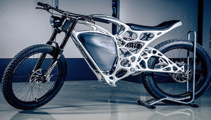 Crean la primera moto impresa en 3D