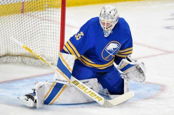 Sabres goalie Linus Ullmark to start against Capitals; Kyle Okposo likely  out | Buffalo Hockey Beat