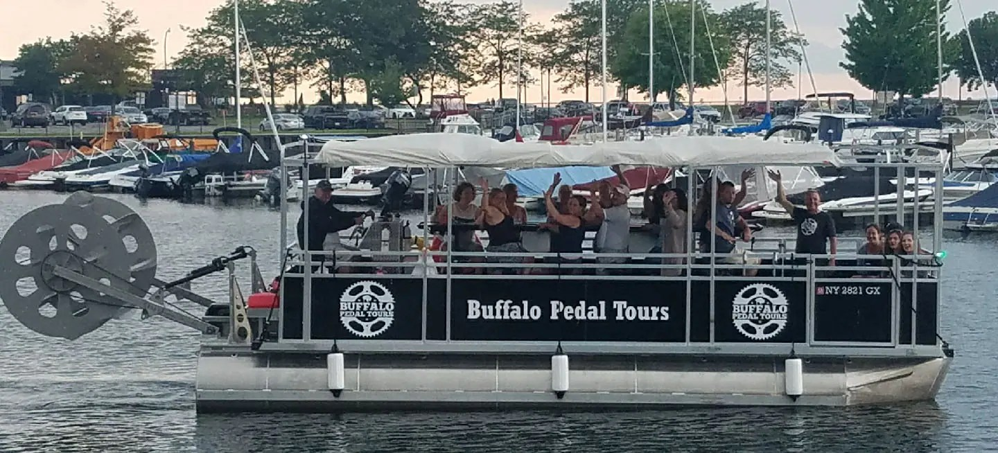 Buy Amp Sell Party Pedal Boat For Tours In WNY Buffalo