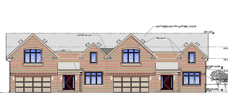 Townhome Rendering 1