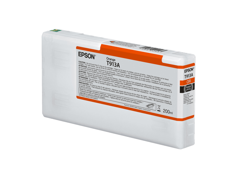 Epson T913A00 UltraChrome HDX Orange Ink Cartridge (200 ml)
