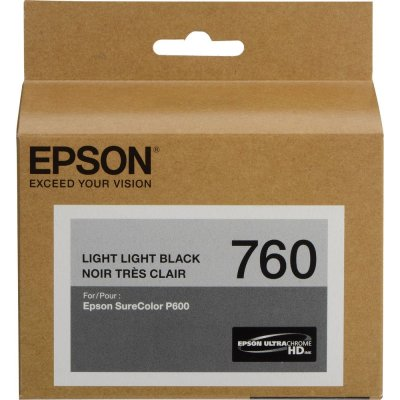 Epson T760920 UltraChrom HD Ink Light Light Black ink Cartridge (25.9 ml)