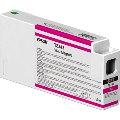 Epson T834300 UltraChrome HD Vivid Magenta Ink Cartridge (150 ml)