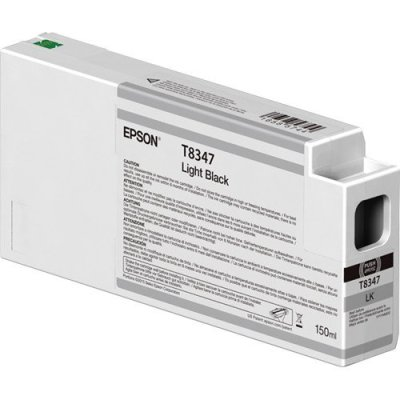 Epson T834700 UltraChrome HD Light Black Ink Cartridge (150 ml)