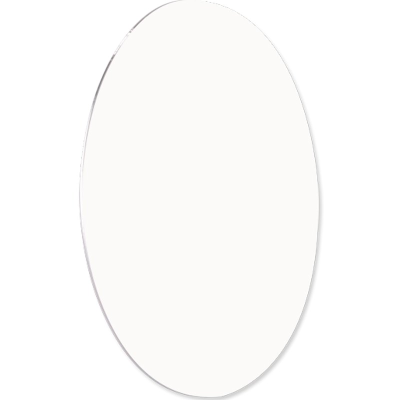 """ChromaLuxe Circle 11"""" Round White Metal Photo Panel - 10 Panels / Case"""