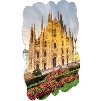 "ChromaLuxe Creative Border 8x8"" Milan Metal Photo Panel - 10 Panels / Case"