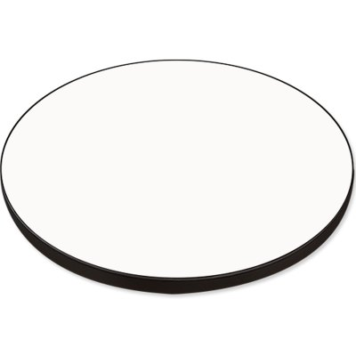 "ChromaLuxe Semi-Glossy 23.625"" Round Table Top - 6 Panels / Case"